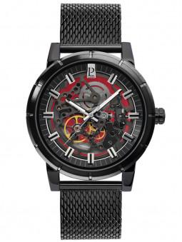 Montre automatique acier milanais noir Pierre Lannier 321C438