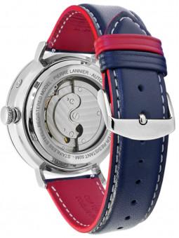 Dos de la montre homme automatique, référence 327B106, Pierre Lannier