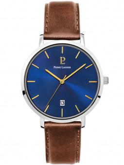 Montre cuir brun Pierre Lannier 258L164
