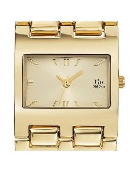 Montre femme Go total look doré