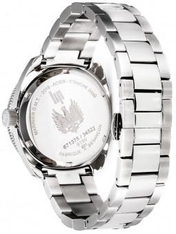 montre homme LIP, marinier, référence 671375, bracelet acier, fermoir boucle déployante double
