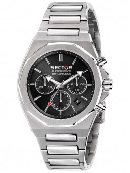 Montre acier noir Sector No Limits Chronographe R3273628002