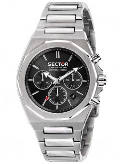 Montre acier noir Sector No Limits Chronographe R3273628002