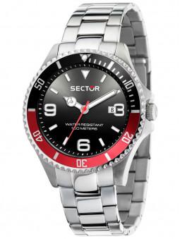 Montre sport Sector 230 acier noir rouge R3253161021