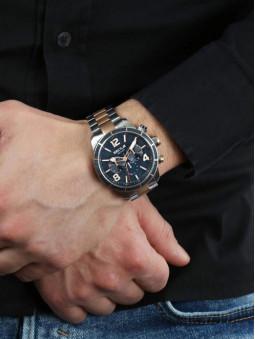 Montre bicolore R3253575005 portee, au bras, marque Sector No Limits, homme