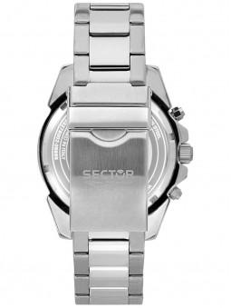 Fermoir, boucle deployante, pour ce bracelet de montre en acier, marque Sector No Limits