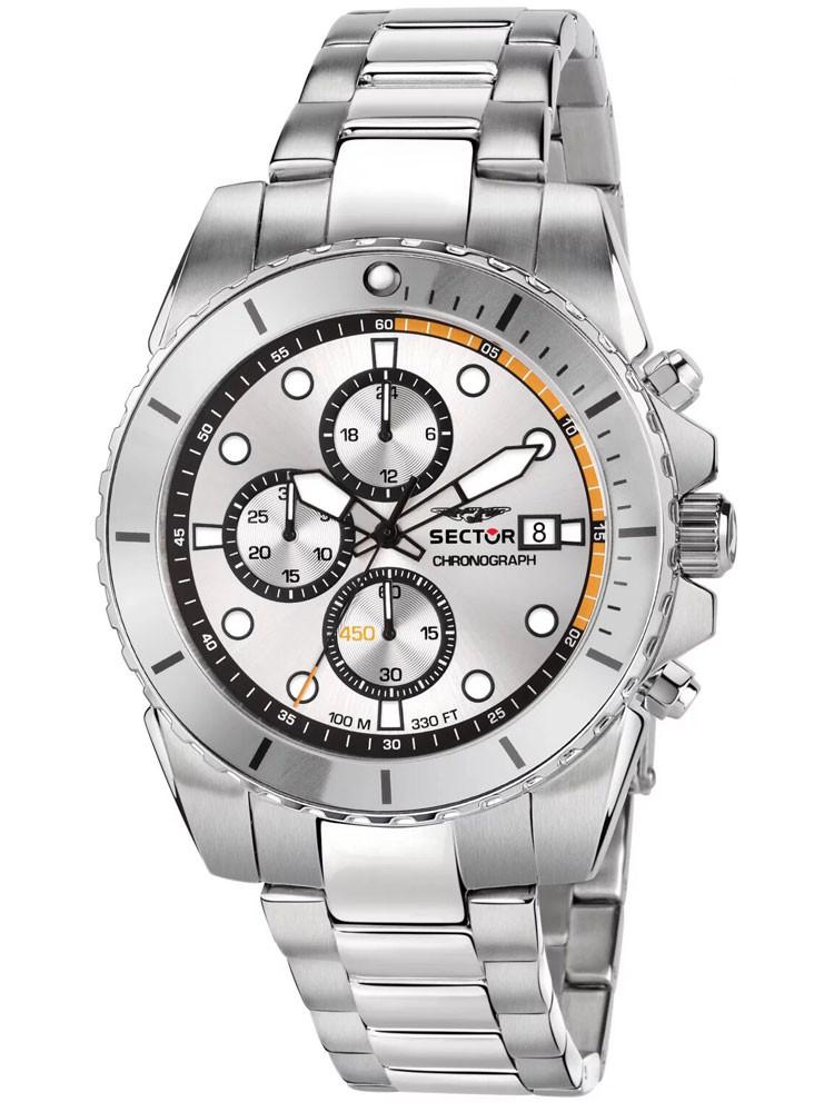 Montre Sector 450 chronographe grise R3273776004
