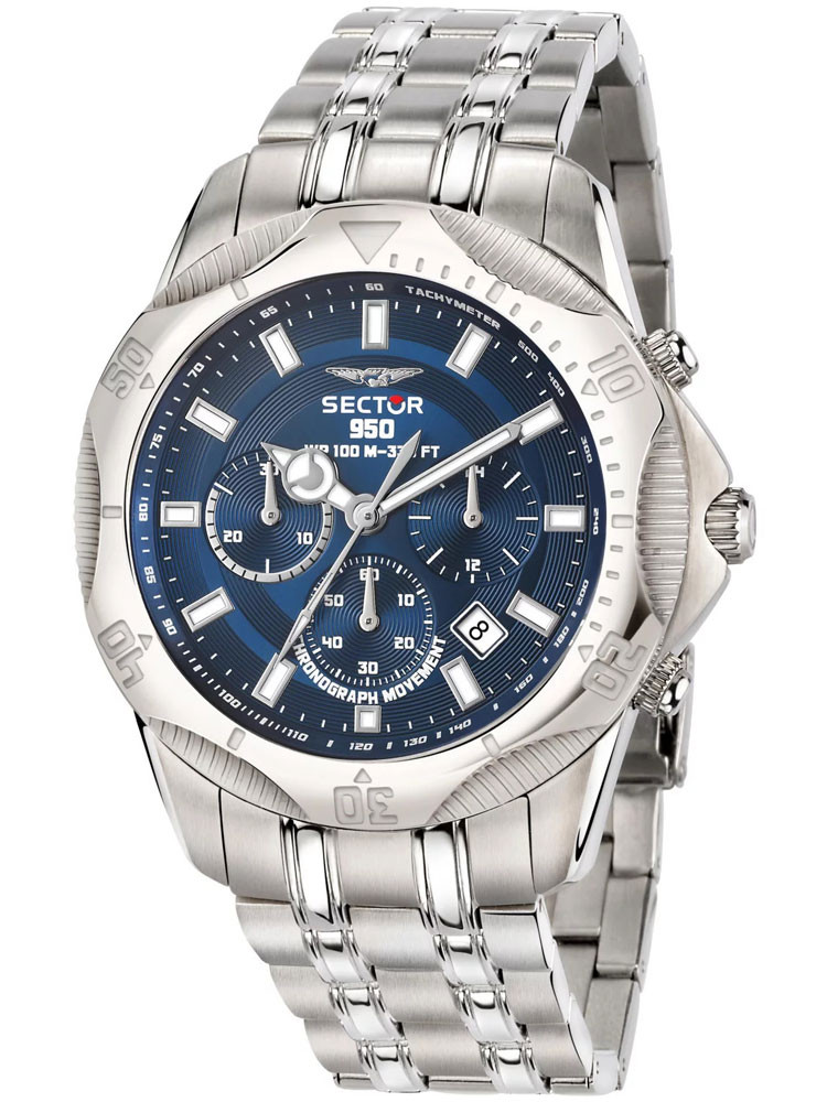 Montre homme Sector No Limits bleue R3273981006