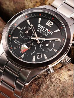 Présentation de montre solaire, marque Sector No Limits, collection 770, R3273616008