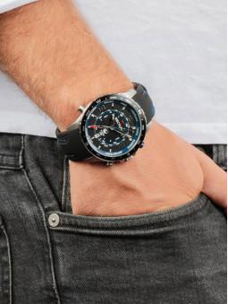 Presentation de la montre Sector pour homme, au bras, marque Sector No Limits