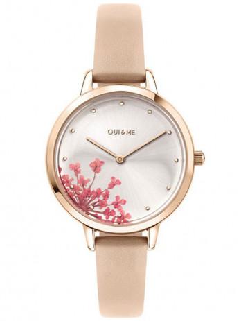 Montre oui and me fleurette cuir ME010188