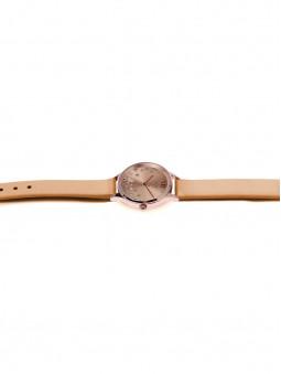 Bracelet de montre en cuir recyclé, couleur miel, pour la montre oui and me, référence ME010238