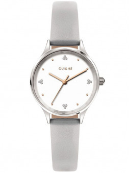 Montre Oui and Me grise ME010181