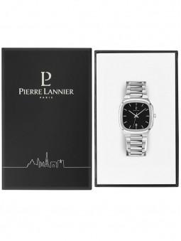 Packaging noir de la marque Pierre Lannier, pour proteger la montre Contraste 262J131