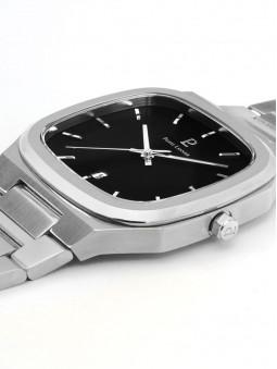 Montre posee a plat, cadran et bracelet, montre pour homme, marque Pierre Lannier, collection Contraste, 262J131