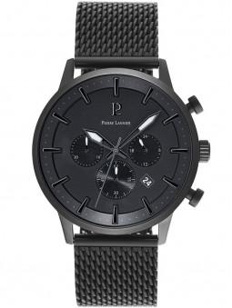 Montre Pierre Lannier noir acier Absolue 206H438