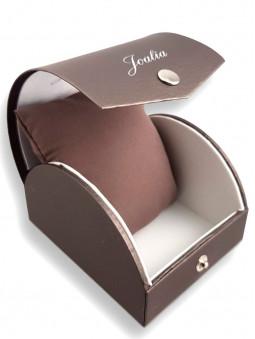 Joli ecrin pour montre femme originale, marque Joalia, en or rose, reference 630595