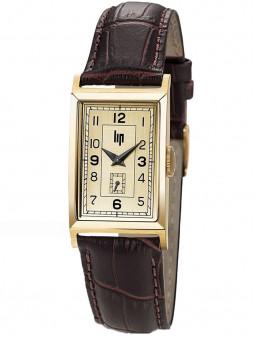Montre Lip T18 vintage cuir brun 671006