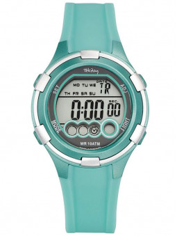 Montre Tekday digitale vert d'eau 653859