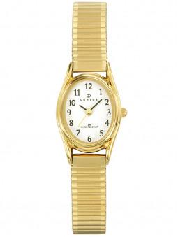 Montre Certus doree pour femme bracelet elastique 630715