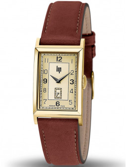 Montre Lip Churchill T18 vintage cuir marron clair 671014