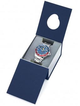ecrin bleu fonce, montre patrouille de france 668079, emballage, protection