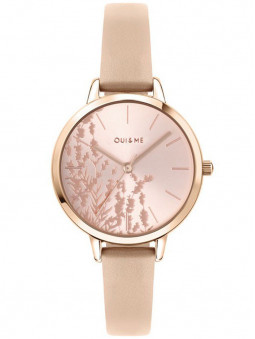 Montre Oui and Me florale rose ME010064
