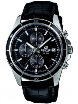 Montre Chronographe Edifice Casio noire pour homme - EFR-526L-1AVUEF