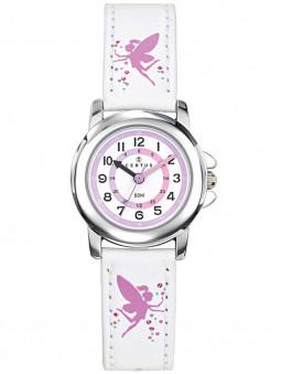 Montre Certus analogique feerique blanche rose 647644