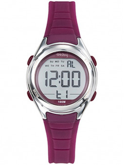 Montre digitale Tekday prune allure sport 654715
