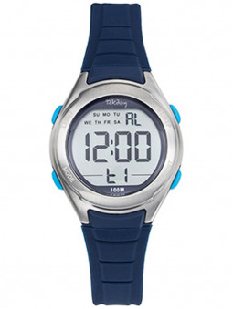 Montre digitale Tekday sport bleue 654714
