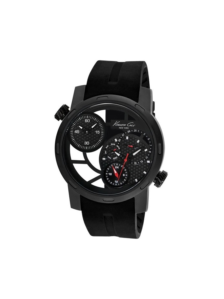 Montre homme Kenneth Cole Transparency noire IKC8018