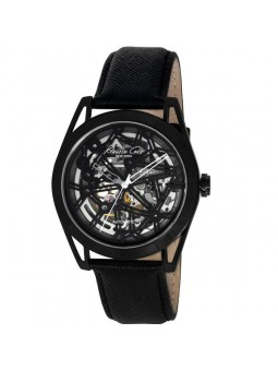 Montre homme Kenneth Cole automatique cuir noir