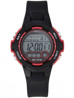 Tekday vous présente cette jolie montre ado, multifonction, affichage digital, couleurs noir et rouge. Code article : 654727
