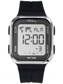 Tekday vous propose cette montre digitale noire pour homme et femme, ultra tendance. Style sportif. Code article 655985