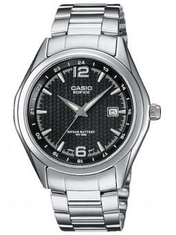 Montre Casio Edifice en acier, avec une bonne étanchéité de 10 bars. Style sport. Code article : EF-121D-1AVEG