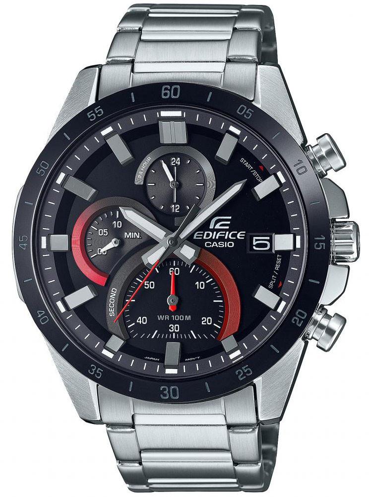 Casio Edifice vous propose ce modèle de montre à l'allure sportive, en acier. Code article : EFR-571DB-1A1VUEF