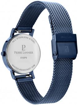 Montre femme bleue Pierre Lannier 010P968 de dos