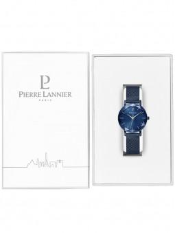 Montre femme bleue Pierre Lannier 010P968 dans son écrin