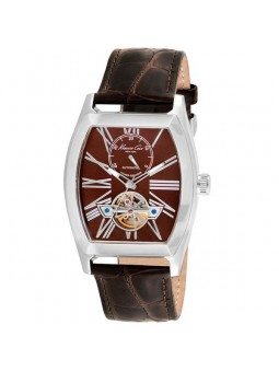 Montre homme Kenneth Cole automatique cuir marron IKC1983