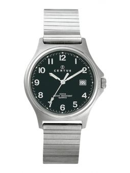 Montre Certus bracelet extensible argent acier 615827