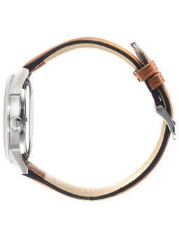 Vue de profil de la montre homme LIP HIMALAYA coeur battant automatique 671572