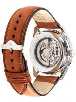 Vue de dos de la montre homme LIP HIMALAYA coeur battant automatique 671572