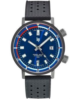 Vue de face de la montre homme LIP Grande Nautic-Ski automatique 671521
