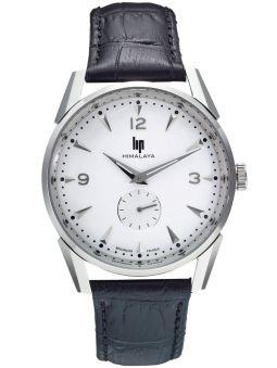 Vue de face de la montre homme LIP HIMALAYA acier 671240