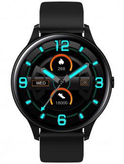 Vue de face de la montre connectée ronde Smarty 2.0 SW021A