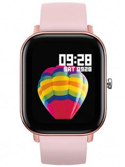 Montre connectée rose Lifestyle Smarty 2.0 SW007C de face