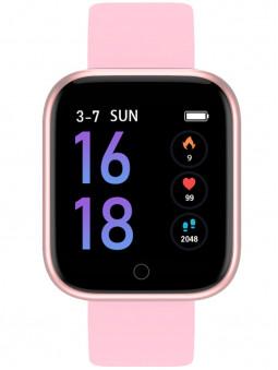 Petite montre connectée rose Smarty 2.0 Wellness SW013C