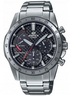 Montre solaire Chronographe Casio Edifice bracelet acier EFS-S580D-1AVUEF