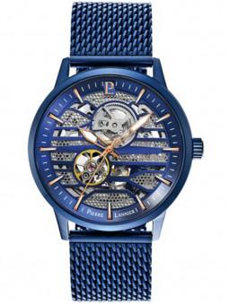 Montre homme Pierre Lannier automatique bleue nuit 332C469